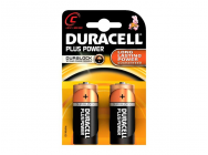 Pack de 2 Piles Duracell Plus Power MN1400/LR14 Baby C - 6121