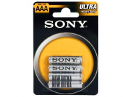 Pack de 4 piles SONY Zink-Chlorid Ultra R03 Micro AAA - 4575