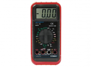 Multimetre Numerique LCD 3 1/2 - 24g / 10A / Sonde Temperature / Capacite / Frequence - DVM892