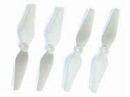 Helice C-PROP 5x3 pouces 5/6/8 mm  Blanche - 2xCW + 2xCCW - Graupner - 1347.5x3