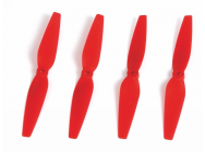Helice 3D-PROP 6x3 pouces 5-8 mm  Rouge  - 2xCW + 2xCCW - 2948.6x3