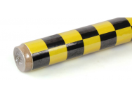 2m ORACOVER LARGE CHEQ.YELLOW/BLACK  - JP-5523702
