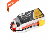 TATTU 1550mAh 14.8V 75C 4S1P Lipo Battery Pack--Specially Made for Victory with Limited Edition - TA-75C-1550-4S1P-R-TBC