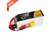 TATTU 1800mAh 22.2V 75C 6S1P Lipo Battery Pack - TA-75C-1800-6S1P