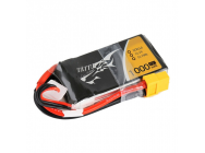 TATTU 1000mAh 11.1V 45C 3S1P Lipo Battery Pack - TA-45C-1000-3S1P