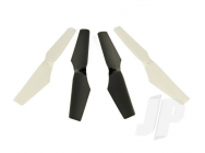 Shadow 240 Propeller/Rotor Blade Set (2 White, 2 Black) by Ares - AZSQ1818