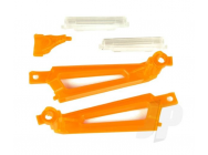 Shadow 240 Light Covers (3 Orange, 2 White) by Ares - AZSQ1822OR