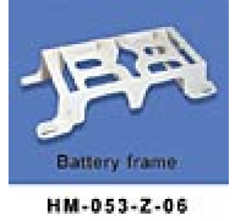 HM-053-Z-06 Support de batteries Swiss Heli Walkera - HM-053-Z-06
